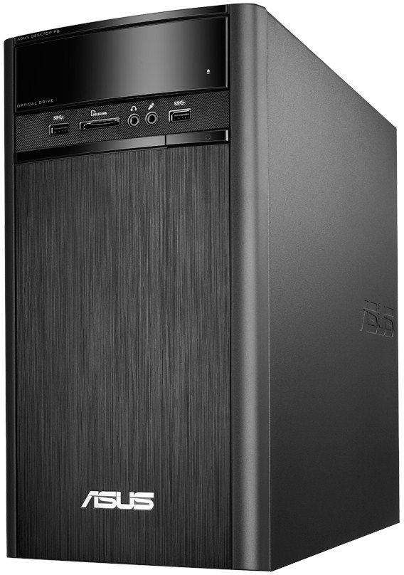 Компьютер  ASUS K31CD-RU016T,  Intel  Core i3  6100,  DDR4 4Гб, 1000Гб,  Intel HD Graphics 530,  DVD-RW,  CR,  Windows 10,  черный [90pd01r2-m07360]