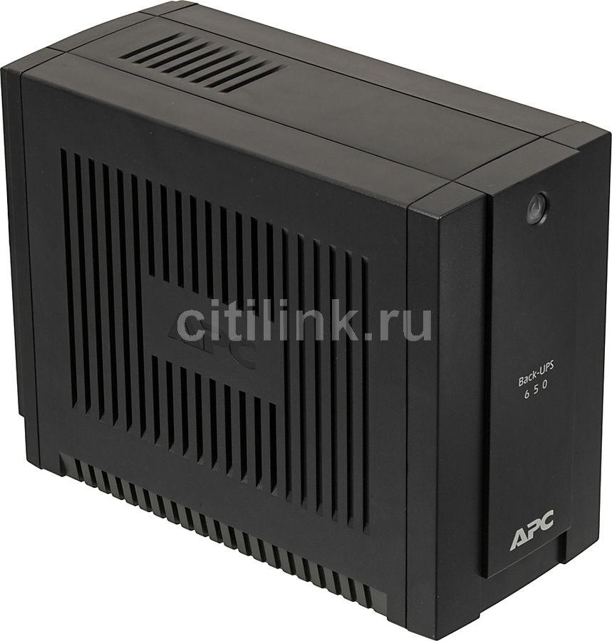 Источник бесперебойного питания APC Back-UPS BC650-RSX761,  650ВA