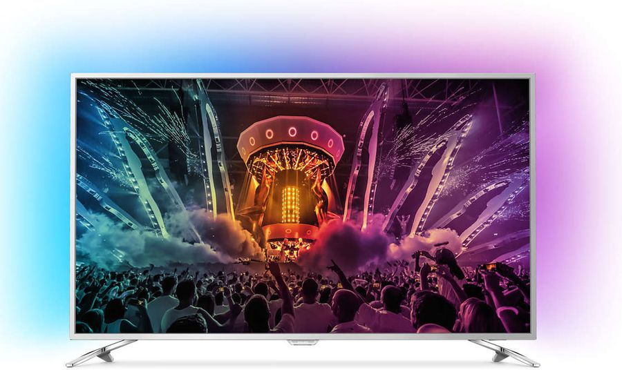 "LED телевизор PHILIPS 65PUS6521/60  ""R"", 65"", Ultra HD 4K (2160p),  черный"