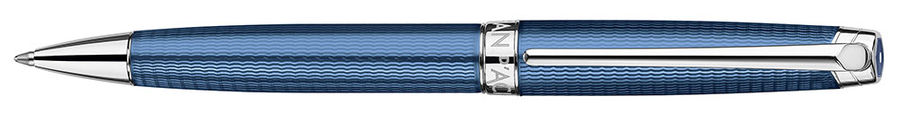 Ручка шариковая Carandache Leman (4789.168) Grand Blue SP подар.кор.