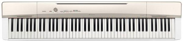 Цифровое фортепиано CASIO PX-160GD, 88, полновзвешенная, полноразмерные, 128, золотистый