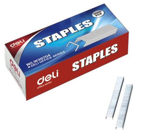Скобы для степлера DELI E39704,  26/6,  картонная коробка