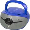Аудиомагнитола BBK BX195U,  голубой и серый вид 1
