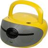 Аудиомагнитола BBK BX195U,  желтый вид 1