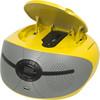 Аудиомагнитола BBK BX195U,  желтый вид 2