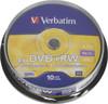 Оптический диск DVD+RW VERBATIM 4.7Гб 4x, 10шт., cake box [43488] вид 1