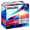 Оптический диск DVD+RW PHILIPS 4.7Гб
