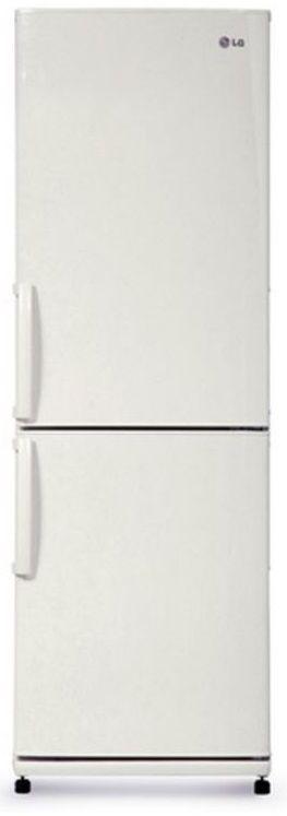 Холодильник LG GA-B379UQDA,  двухкамерный,  белый