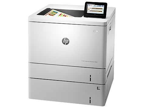 Принтер HP Color LaserJet Enterprise M553x лазерный, цвет:  белый [b5l26a]