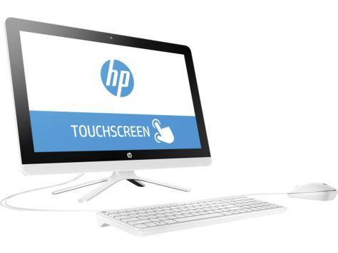 Моноблок HP 22-b007ur, Intel Pentium J3710, 8Гб, 1000Гб, Intel HD Graphics 405, DVD-RW, Windows 10, белый [x0z33ea]