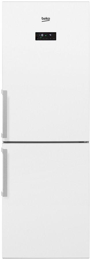 Холодильник BEKO RCNK296E21W,  двухкамерный,  белый