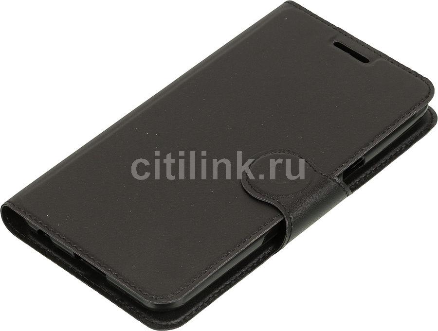 Чехол (флип-кейс) REDLINE Book Type, для LG X Power, черный [ут000009117]