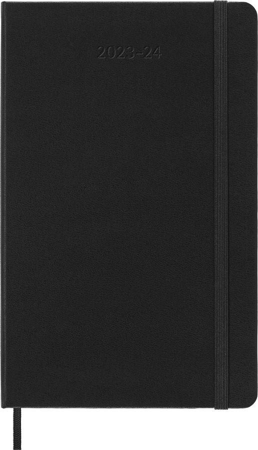 Еженедельник MOLESKINE ACADEMIC WKNT LGH,  датированный на 18 месяцев,  208стр.,  черный