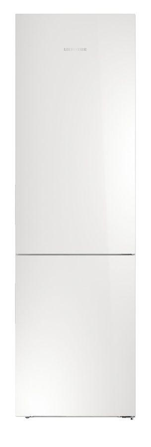 Холодильник LIEBHERR CBNPgw 4855,  двухкамерный, белое стекло