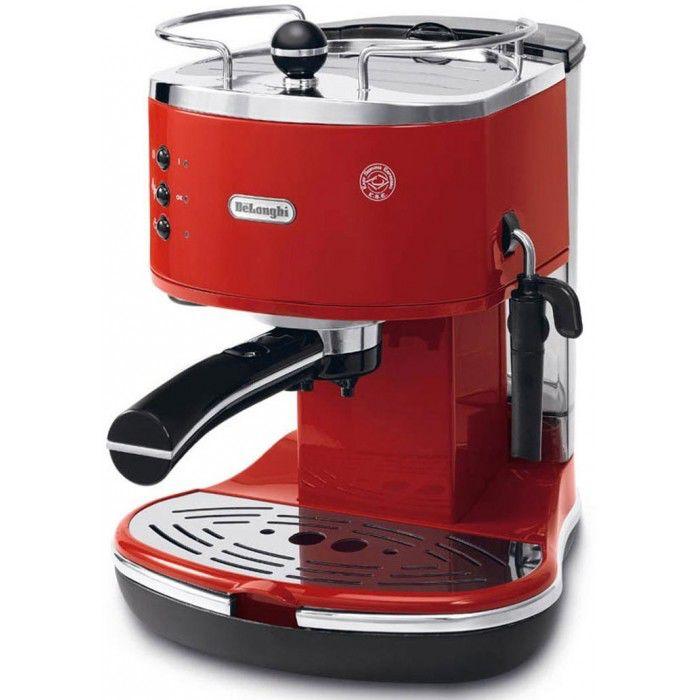 Кофеварка DELONGHI ECO311R,  эспрессо,  красный  [132106081]