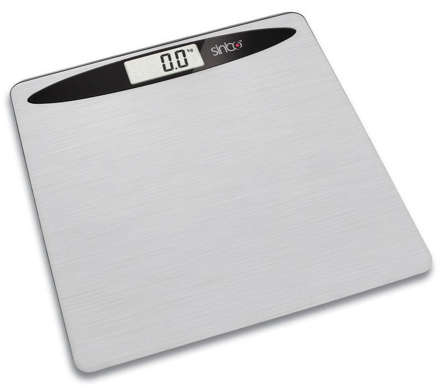 Напольные весы SINBO SBS 4419, до 150кг, цвет: серебристый