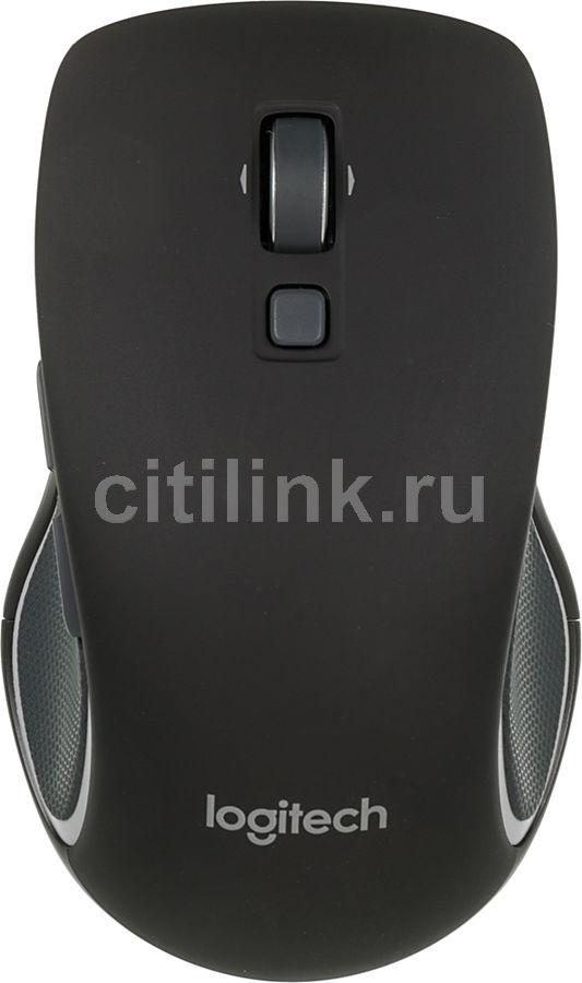 Мышь LOGITECH M560 оптическая беспроводная USB, черный [910-003882]