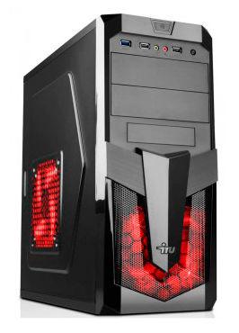 Компьютер  IRU City 519,  Intel  Core i5  4460,  DDR3 8Гб, 1Тб,  nVIDIA GeForce GTX 950 - 2048 Мб,  DVD-RW,  Free DOS,  черный [389093]