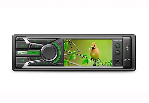 Автомагнитола ROLSEN RCR-350G,  USB,  SD/MMC