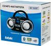 Аудиомагнитола BBK BX160BT,  черный вид 12