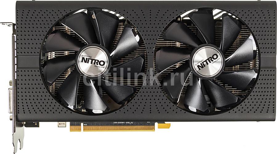 Видеокарта SAPPHIRE Radeon RX 480,  11260-07-20G NITRO+ RX 480 8G,  8Гб, GDDR5, Ret
