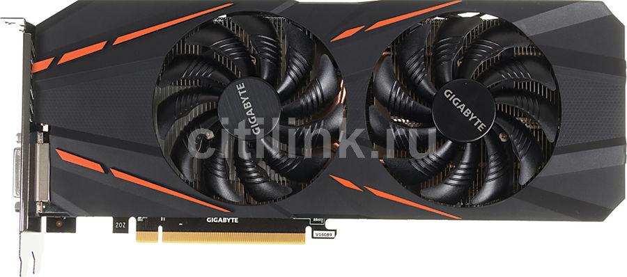 Видеокарта GIGABYTE GeForce GTX 1060,  GV-N1060G1 GAMING-3GD,  3Гб, GDDR5, OC,  Ret