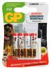 Батарея GP Super Alkaline 24A LR03 Pets,  4 шт. AAA вид 1