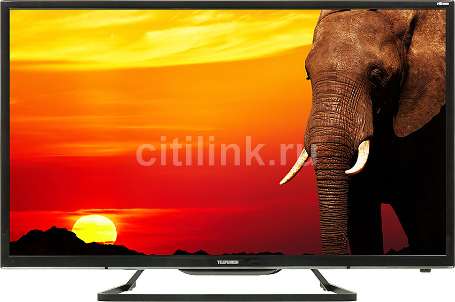 "Телевизор LED Telefunken 32"" TF-LED32S41T2 черный/HD READY/50Hz/DVB-T/DVB-T2/DVB-C (плохая упаковка)"