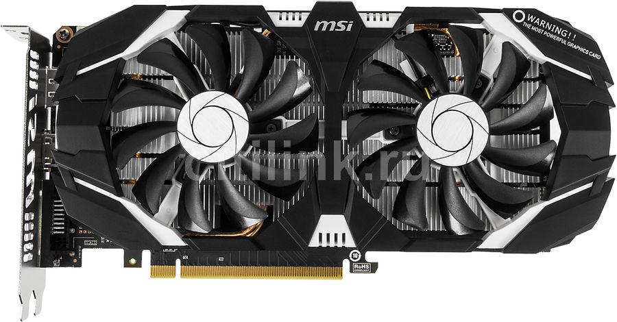 Видеокарта MSI PCI-E GTX 1060 3GT OC NV GTX1060 3072Mb 192b GDDR5 1544/8008 DVIx1/ (отремонтированный)
