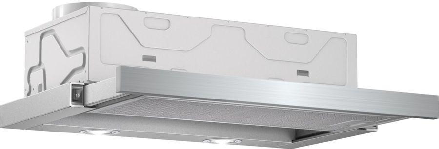 Вытяжка встраиваемая Bosch DFM064W51 серебристый управление: кнопочное (1 мотор)
