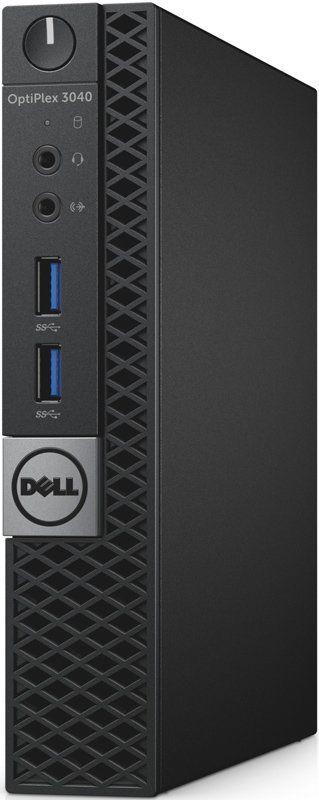 Компьютер  DELL Optiplex 3040,  Intel  Core i3  6100T,  DDR3L 4Гб, 128Гб(SSD),  Intel HD Graphics 530,  Linux,  черный и серебристый [3040-9921]