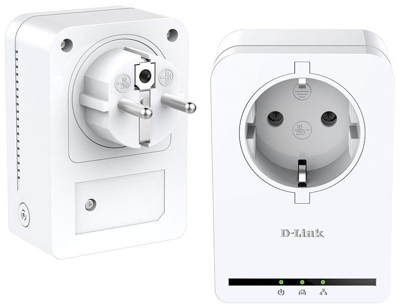 Сетевой адаптер PowerLine D-LINK DHP-P309AV Ethernet [dhp-p309av/c1a]
