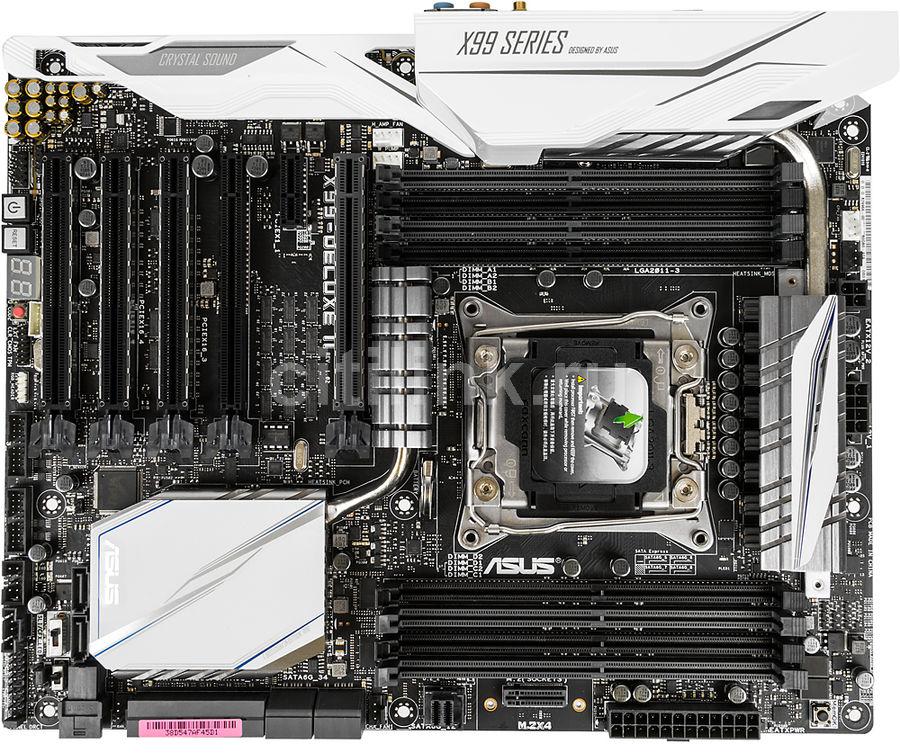 Материнская плата ASUS X99-DELUXE II, LGA 2011-v3, Intel X99, ATX, Ret