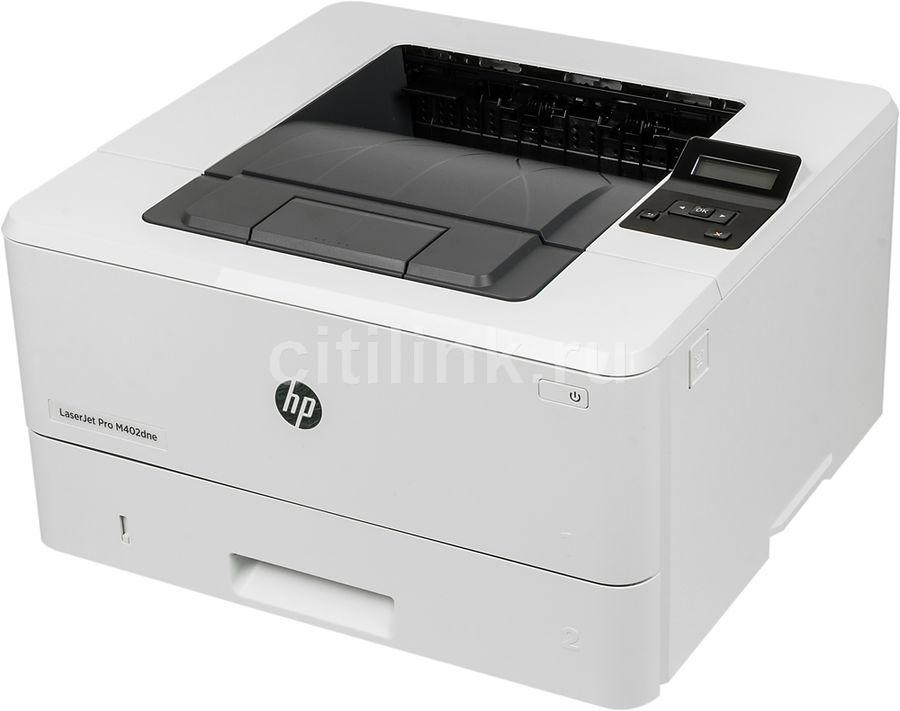 Принтер HP LaserJet Pro M402dne лазерный, цвет:  белый [c5j91a]