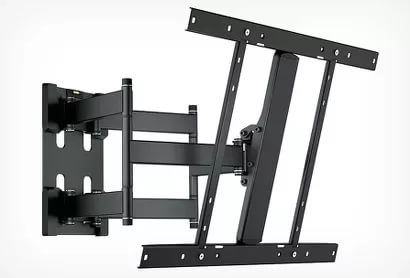 "Кронштейн для телевизора Holder LCD-SU6803 черный 32""-80"" макс.50кг настенный поворот и наклон"