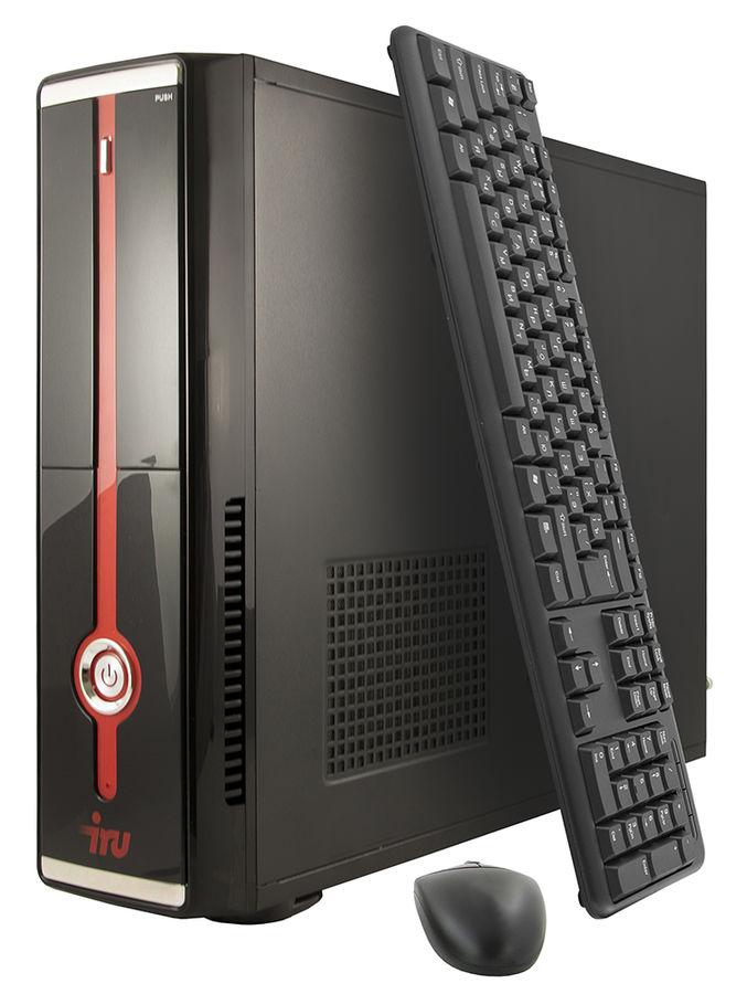 Компьютер  IRU Office 511,  Intel  Core i5  4460,  DDR3 4Гб, 1Тб,  Intel HD Graphics 4600,  DVD-RW,  Windows 7 Professional,  черный [393347]