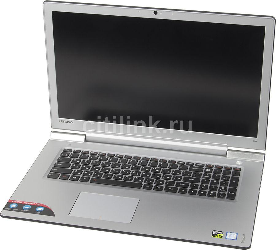 """Ноутбук Lenovo IdeaPad 700-17ISK i5 6300HQ/8Gb/1Tb/SSD128Gb/GTX 950M 4Gb/17.3""""/IPS/FHD/W10/blac(Б/У)"""