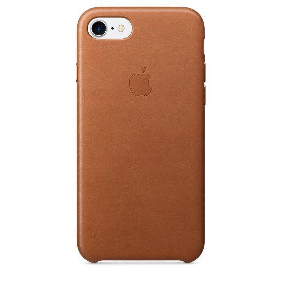 Чехол (клип-кейс) APPLE MMY22ZM/A, для Apple iPhone 7, светло-коричневый