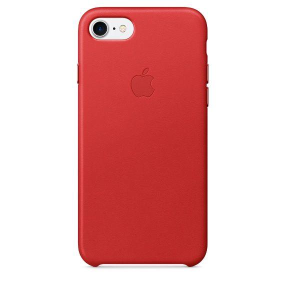 Чехол (клип-кейс) APPLE MMY62ZM/A, для Apple iPhone 7, красный