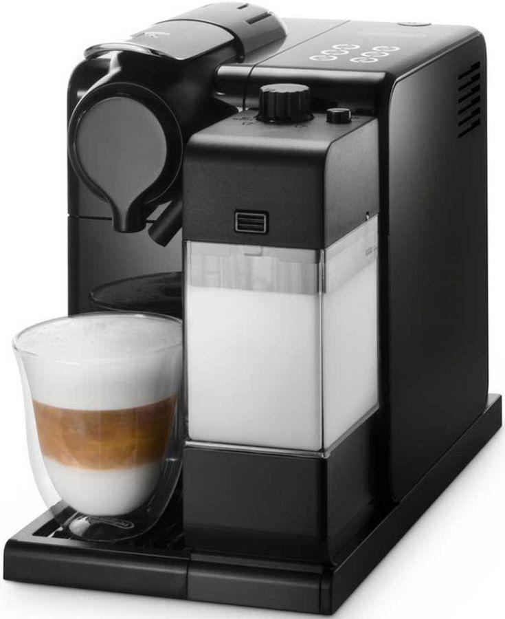 Капсульная кофеварка DELONGHI Nespresso EN550B, 1400Вт, цвет: черный [132193182]