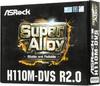 Материнская плата Asrock H110M-DVS R2.0 Soc-1151 Intel H110 2xDDR4 mATX AC`97 8ch( (отремонтированный) вид 8