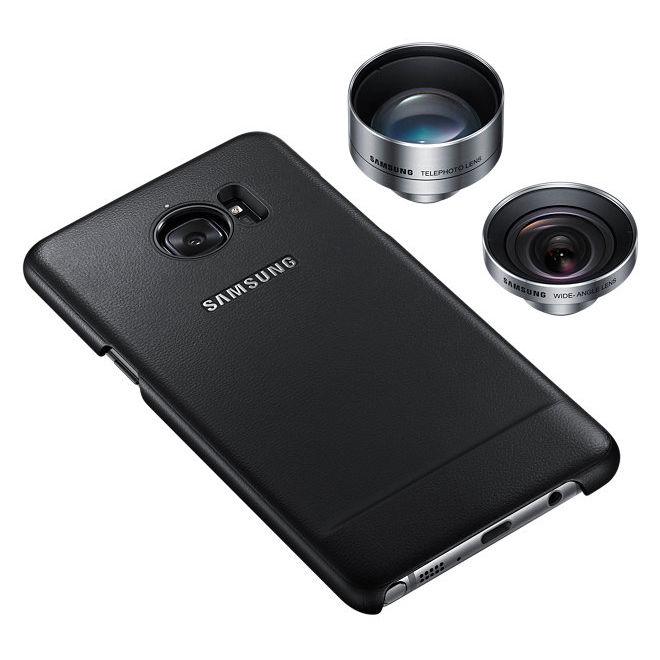 Чехол (клип-кейс) SAMSUNG Lens Cover, для Samsung Galaxy Note 7, черный [et-cn930dbegru]