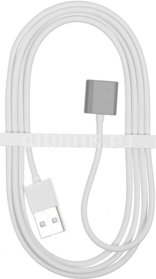Кабель  Lightning -  USB 2.0,  1.2м,  серый [snap-c1a-1-sg]