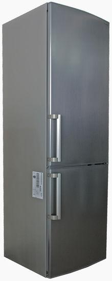 Холодильник SHARP SJ-B233ZR-SL,  двухкамерный,  серебристый