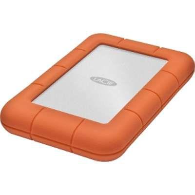 Внешний жесткий диск LACIE Rugged Mini LAC301558, 1Тб, оранжевый