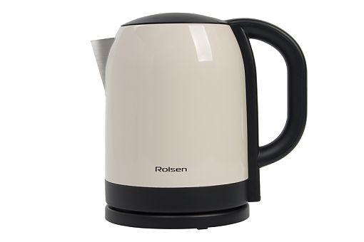 Чайник электрический ROLSEN RK-2718M, 1850Вт, бежевый