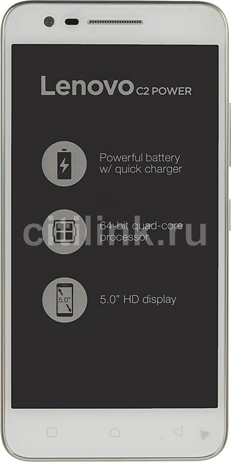 "Смартфон Lenovo Vibe C2 Power 16Gb белый моноблок 3G 4G 2Sim 5"" 720x1280 And6.0 8M (отремонтированный)"