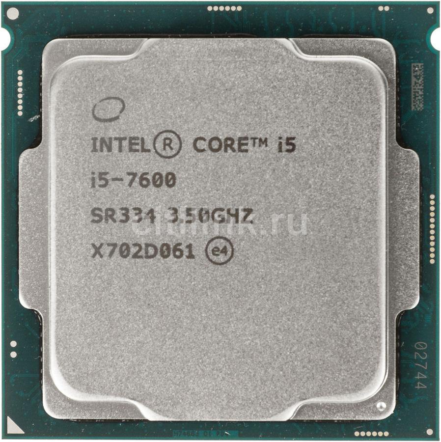 Процессор INTEL Core i5 7600, LGA 1151 ** OEM [cm8067702868011s r334]