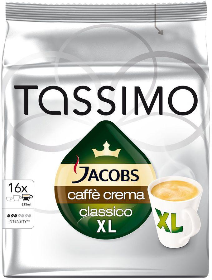 Капсулы BOSCH TASSIMO Кафе Крема,  для кофемашин капсульного типа,  16 шт [дубль использовать 393879]