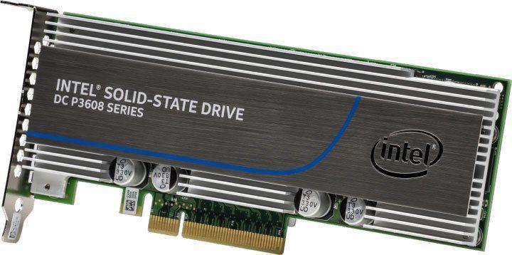 SSD накопитель INTEL DC P3608 SSDPECME016T401 1.6Тб, PCI-E AIC (add-in-card), PCI-E x8 [ssdpecme016t401 943186]